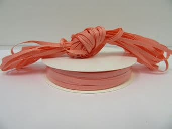 Coral Pink Grosgrain ribbon Ribbed Double sided, 3mm, 6mm 10mm 16mm 22mm 38mm 50mm
